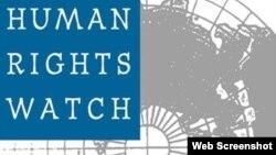 人權觀察視頻截圖。