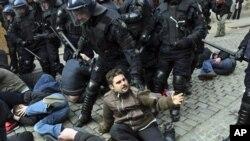 Διαδηλώσεις κατά της Πρωθυπουργού της Κροατίας