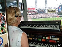 Nancy Faust's days of playing 'Take Me Out to the Ballgame,' are coming to an end when she retires in October.