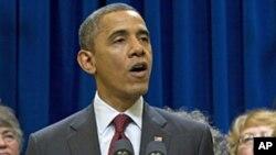 کانگریس 'شٹ ڈاؤن' سے بچنے کے لیے اقدامات کرے، اوباما
