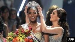 Kainat gözəli titulunun sahibi Anqoladan Leyla Lopes oldu