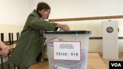 Glasanje na parlamentarnim izborima na Kosovu, 6. oktobar 2019.