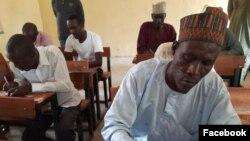 Malamai suna jarabawa a garin Baga (Facebook/Gwamnatin Borno)
