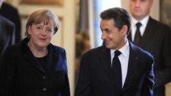 سارکوزی، مرکل خوستار پيمان جديد اتحاديه اروپا برای پايان دادن به بحران بدهی ها شدند