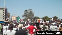 Une manifestation des militants de l'opposition (Archives)
