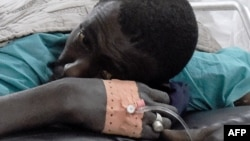 Une victime de l'attaque de Casamance, au sud du Sénégal, le 7 janvier 2018