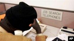 美國失業者為搵工而煩惱