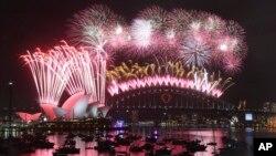 Новый Год в Сиднее, Австралия. 1 января 2015 г.