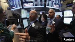 16일 뉴욕 증권가의 모습. (자료사진)