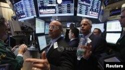 Indeks pasar saham Amerika kebanyakan ditutup naik pada sesi hari Jumat 21/6 (foto: dok).