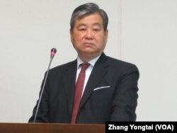 台湾外交部次长石定(美国之音张永泰拍摄)