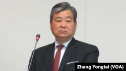 台灣外交部次長石定(美國之音張永泰拍攝)