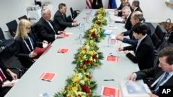 20个工业化国家的外交部长在波恩举行G20第二天会议