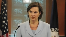 State Department spokeswoman Victoria Nuland (file photo)