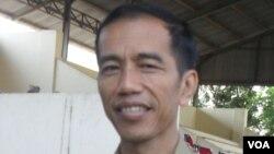 Gubernur Terpilih DKI Joko Widodo (VOA/Yudha Satriawan)