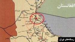 نقشه استان سیستان و بلوچستان ایران
