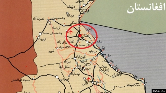 میرجاوه در جنوب شرقی زاهدان قرار دارد