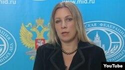 Juru bicara Kementerian Luar Negeri Rusia, Maria Zakharova (foto: dok).
