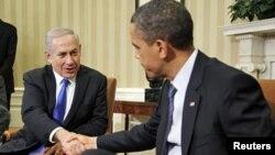Πρόεδρος Ομπάμα και Πρωθυπουργός Νετανιάχου(φωτο αρχείου)