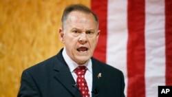 聯邦參議院候選人羅伊摩爾資料照。