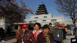 한국 찾는 중국인 관광객 '요우커'