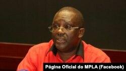 Albino Carlos, secretário para a Informação do MPLA
