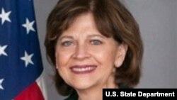 Madam Helen Meagher La Lime. Foto achiv: Sit wèb Depatman Deta Ameriken.