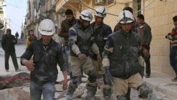 U.S. Condemns Barrel Bombing Of Aleppo