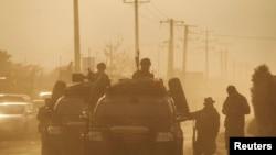阿富汗特种部队在喀布尔执行任务(资料照片)
