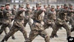 Ngân sách quân sự của Trung Quốc hiện đứng thứ nhì trên thế giới, sau Hoa Kỳ
