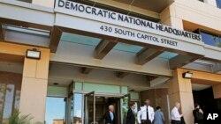 Foto de archivo de la sede del Comité Nacional Demócrata en Washington. Junio 14 de 2016.