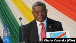 Kalev Mutond, l'ancien administrateur général de l'ANR (agence nationale de renseignement) à Goma, RDC, le 25 janvier 2917. (VOA/Charly Kaseraka)