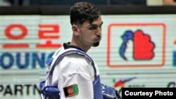 نثاراحمد عبدالرحیم زی، ملی پوش تکواندوی افغانستان