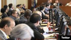 El Consejo Permanente de la Organización de Estados Americanos (OEA) analizó el miércoles los casos de corrupción en la región. Fotos de archivo.