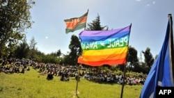 Dân của 2 bộ tộc Kikuyu và Kalenjin tựu tập tại buổi họp mặt vì hòa bình ở Eldoret, Kenya