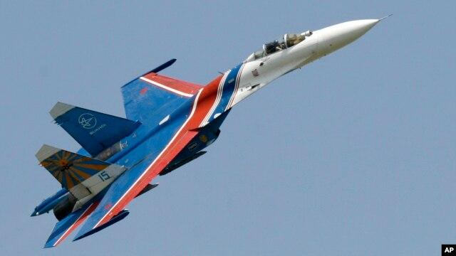 Chiến đấu cơ Su-27 của Nga.