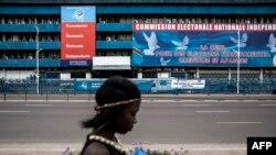 Ndako ya mosola ya Commission électorale nationale indépendante (CENI) na Kinshasa, RDC, 5 novembre 2017.