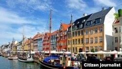 ພາກສ່ວນນຶ່ງຂອງ ນະຄອນ Copenhagen ປະເທດ Denmark