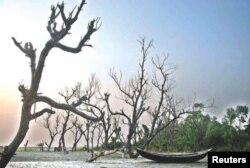 Učinak klimatskih promjena u obalnom pojasu Bangladeša.