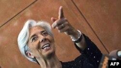 Bộ trưởng Tài chính Pháp Christine Lagarde vận động sự ủng hộ từ các nền kinh tế đang lên để tranh chức Tổng Giám đốc Quĩ Tiền Tệ Quốc Tế IMF