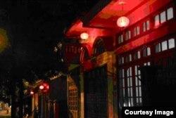Đèn lồng trên phố Trần Nhật Duật (P. Kim Tân)