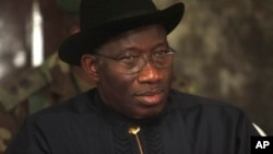Shugaban gwamnatin Najeriya Goodluck Jonathan