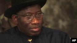Shugaban Najeriya, Goodluck Jonathan.
