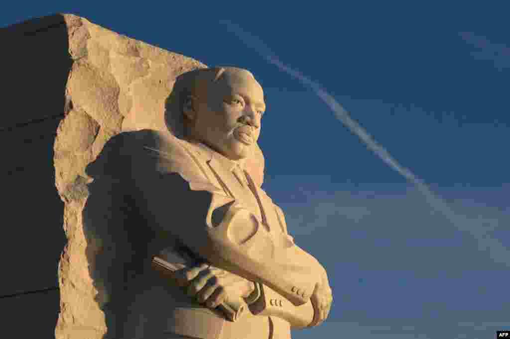 Монумент Мартину Лютеру Кингу. Вашингтон