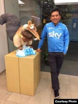 Jony Chandra, Storyboard Artist untuk film-film Hollywood yang bekerja di Blue Sky Studios, NY (foto: Jony Chandra)
