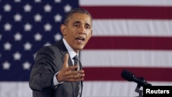 Tổng thống Obama nói rằng nước Mỹ không nên chỉ dựa vào sức mạnh quân sự để ứng phó với những thách thức trên thế giới.