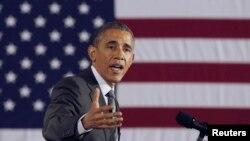 باراک اوباما رئیس جمهوری ایالات متحده