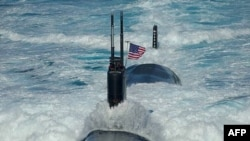 Cuộc thao diễn quân sự Hoa Kỳ - Nam Triều Tiên đang diễn ra ở Biển Nhật Bản