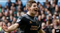 Cựu thủ quân Liverpool Steven Gerrard.