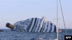 Իտալիայում վթարի ենթարկված նավի փրկարարական աշխատանքները դադարեցվել են